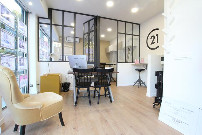 Century 21 Nice centre intérieur agence